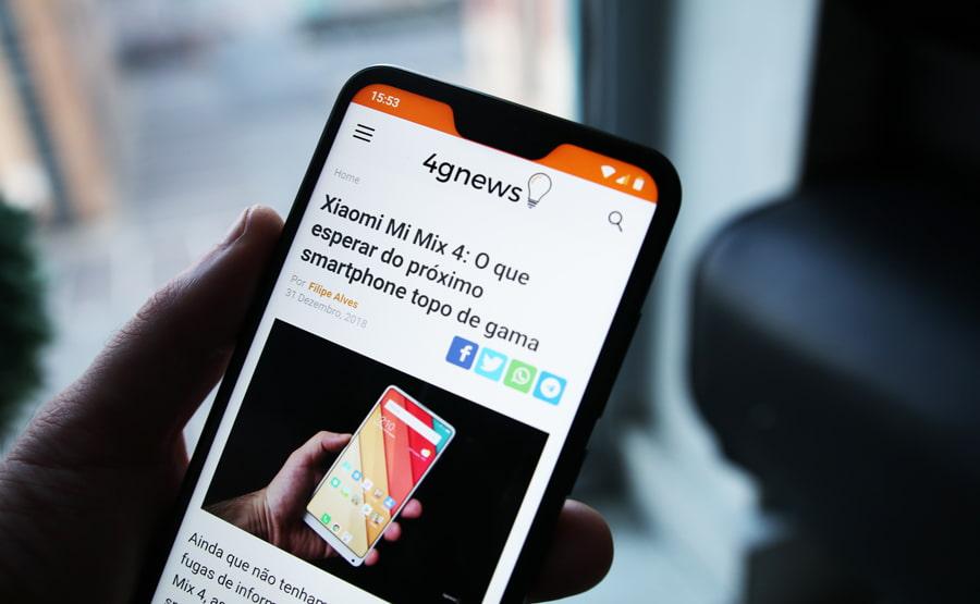 Android: Esconde a notch do teu smartphone com esta aplicação grátis