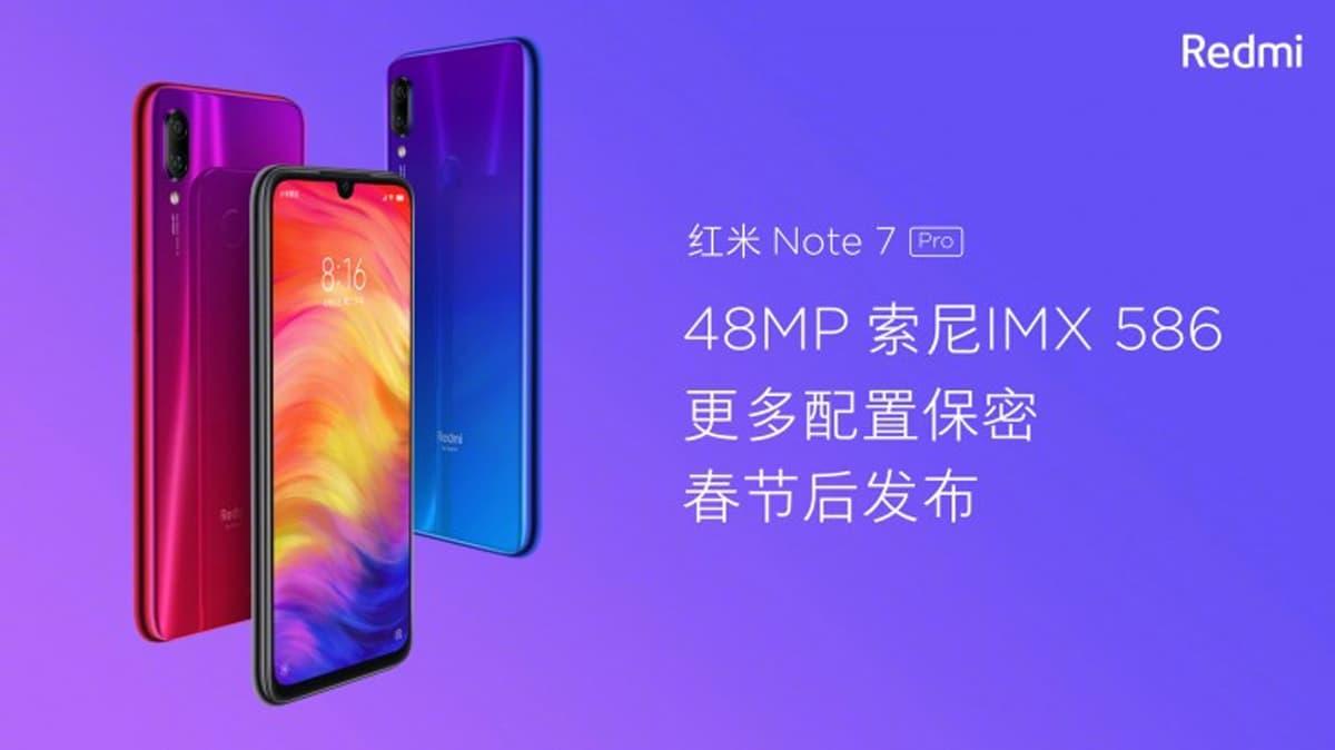 Xiaomi Redmi Note 7 Pro: Especificações aparecem e desiludem