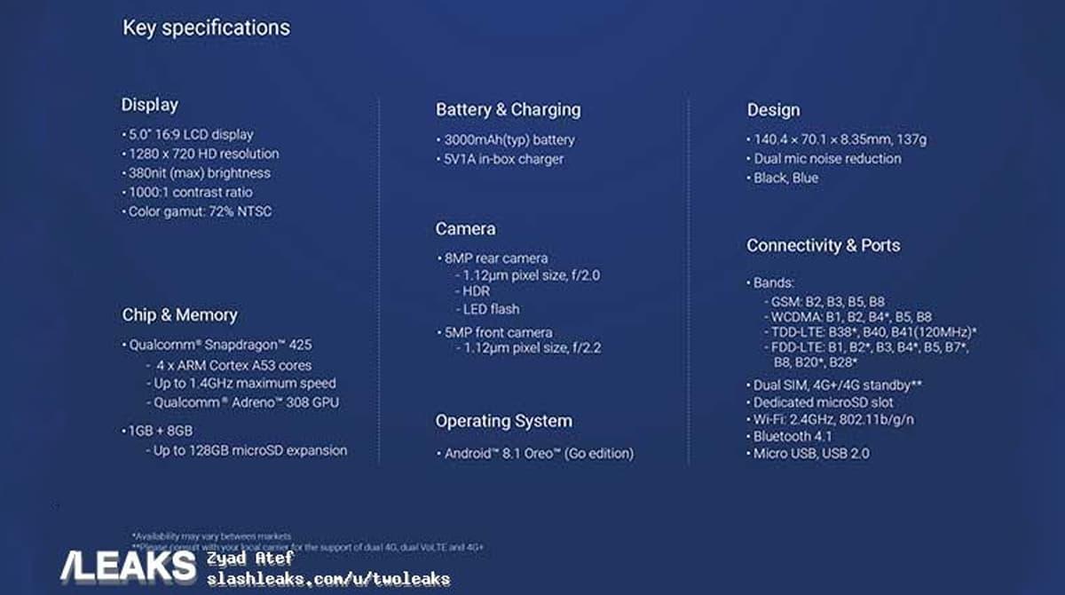 Xiaomi Redmi Go Android Go