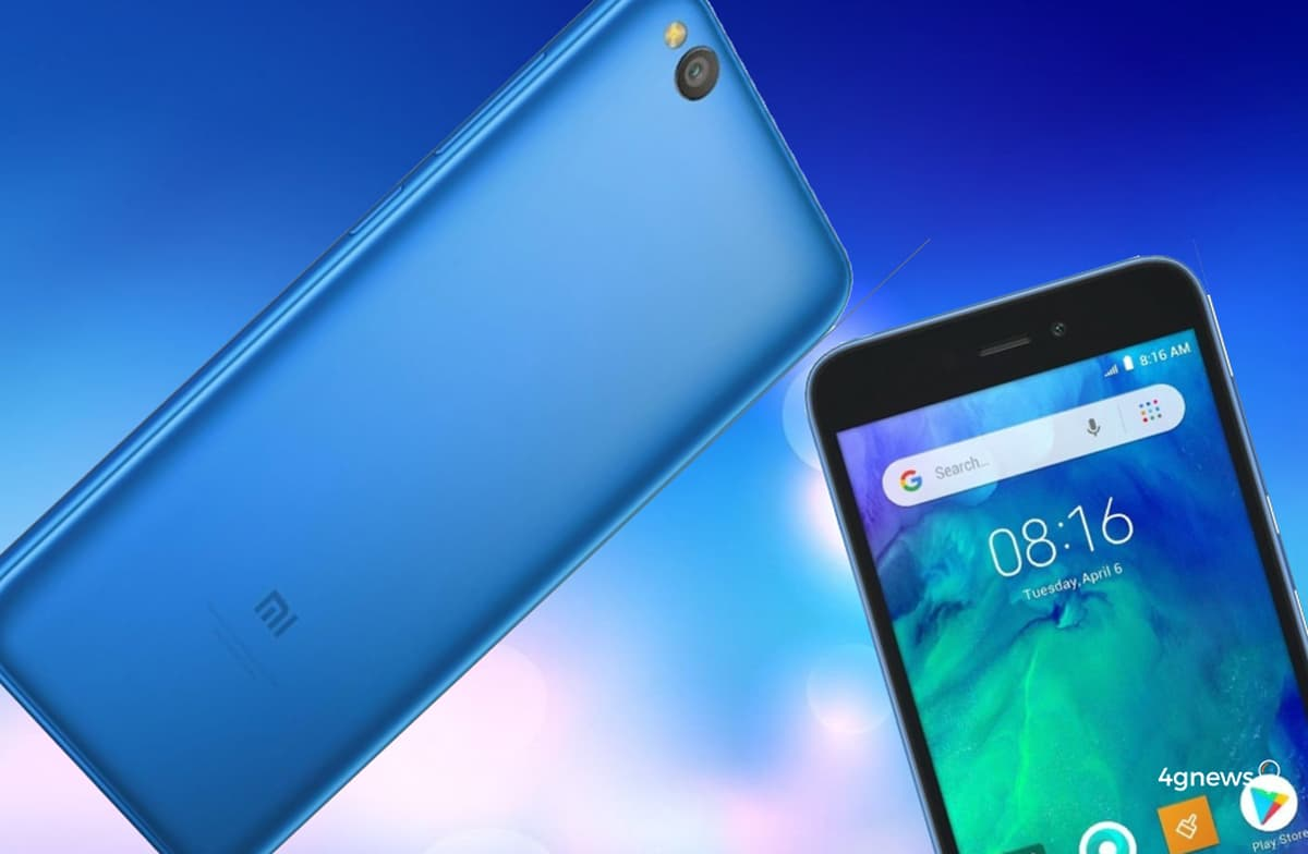 Xiaomi Redmi Go anunciado! Android Go por 80€ chegará à Europa