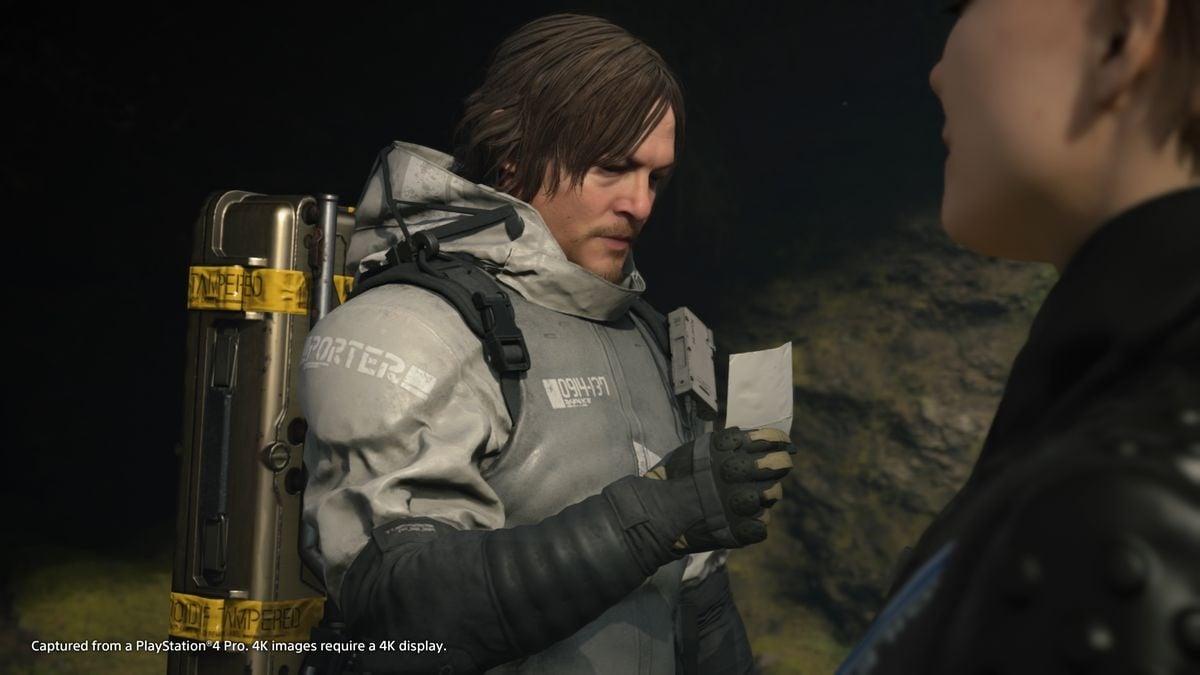 Norman Reedus, que participa em The Walking Dead, é o protagonista de Death Stranding