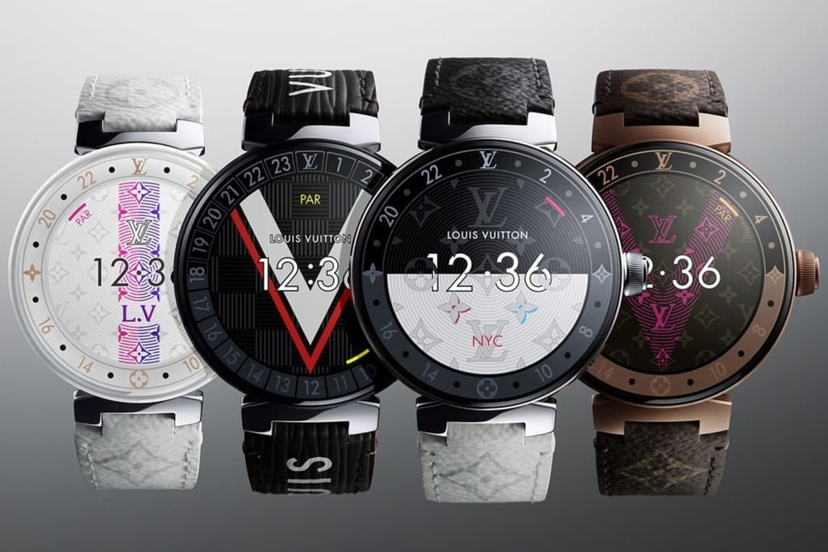 Louis Vuitton revela smartwatch com WearOS da Google que custa 2500€