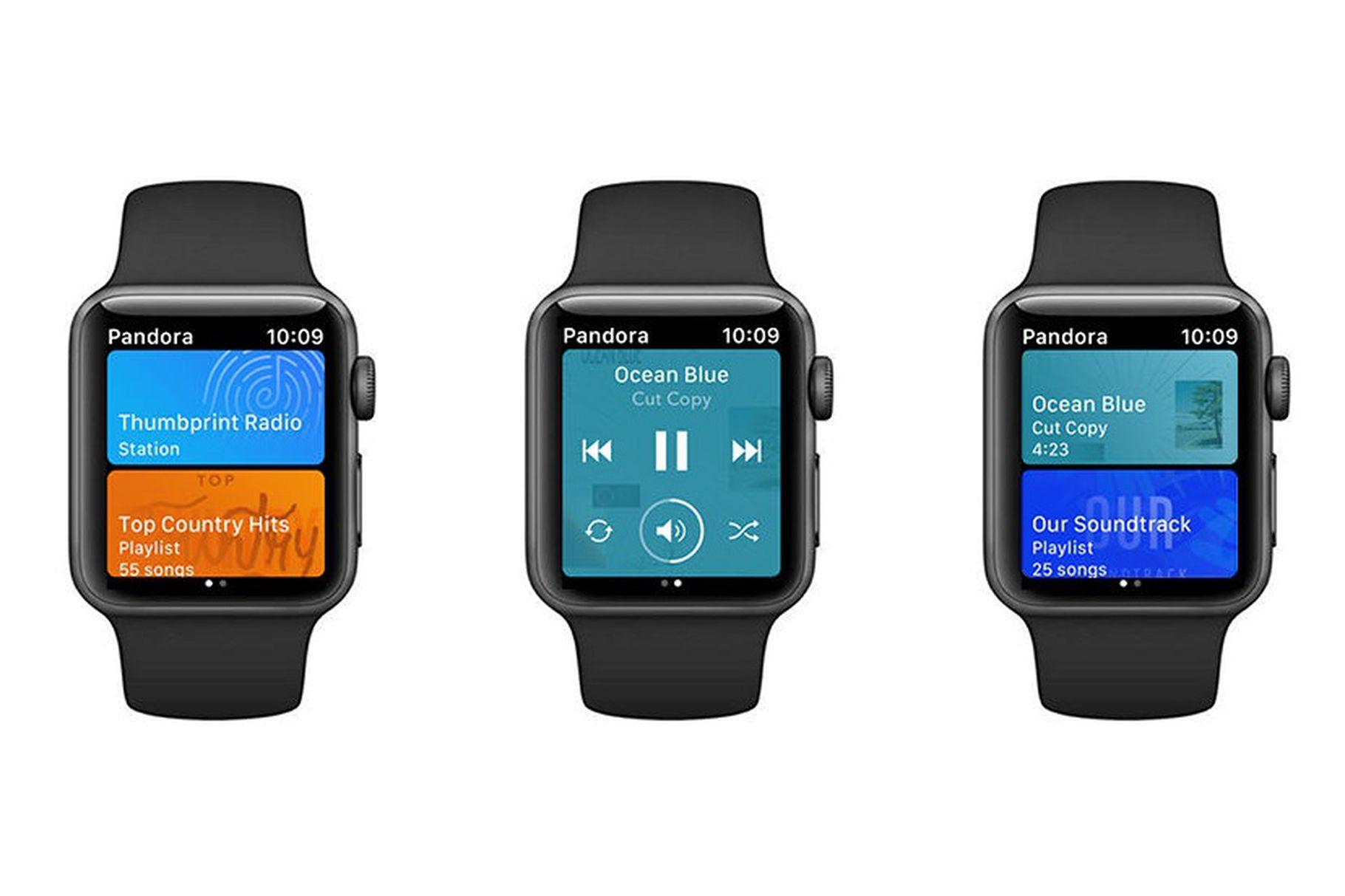 6562bcd09ff Apple Watch - Pandora ultrapassa Spotify e permite reprodução ...