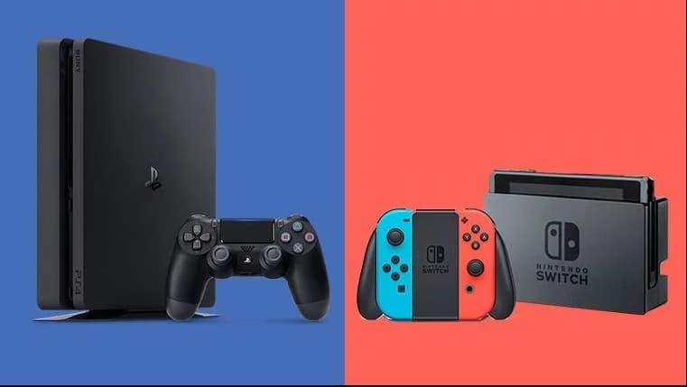 Sony PlayStation 4 vende como nunca! Nintendo Switch também cresce
