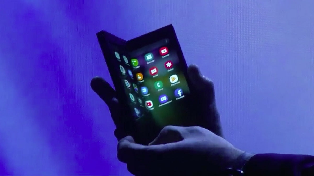 Vídeo da Samsung dá destaque ao smartphone do dobrável