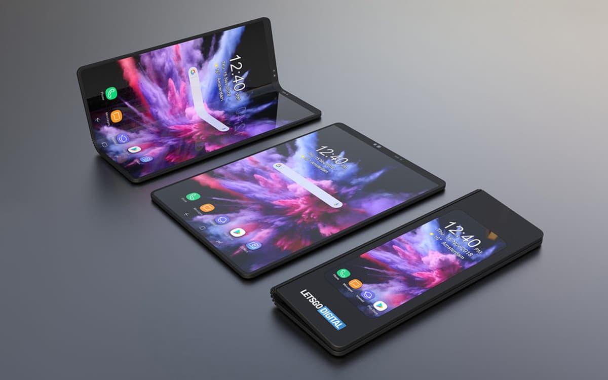 Samsung Smartphone Dobrável Futuro