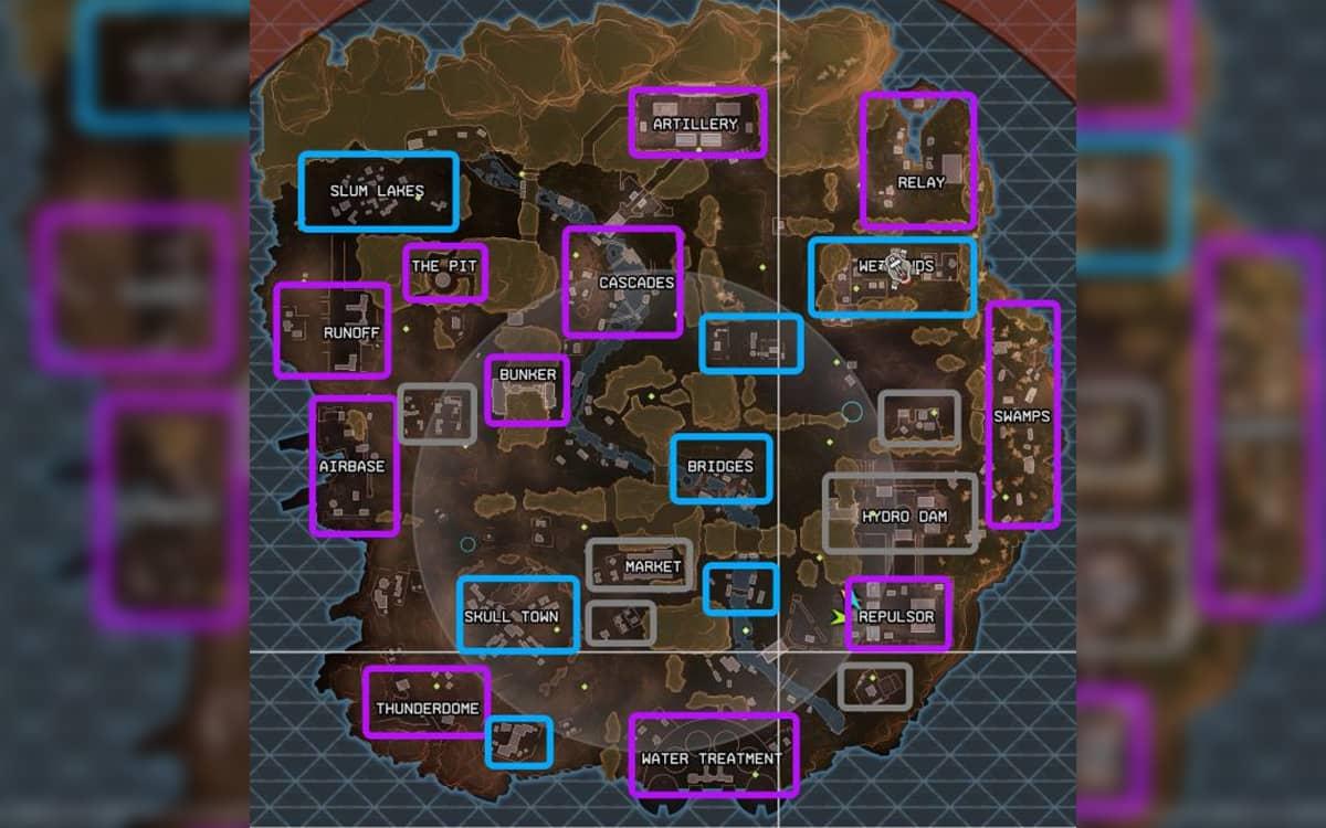 Apex Legends Mapa Loot