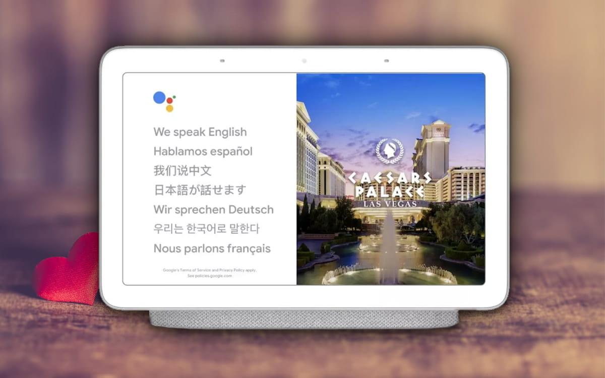 Assistente Google Interprete