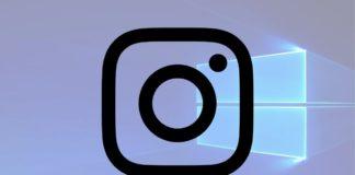 Windows 10 Instagram