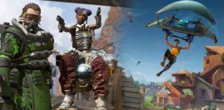 Apex Legends popularidade Fortnite