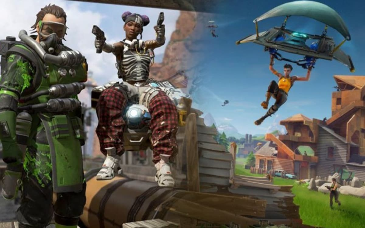Apex Legends popularidade Fortnite