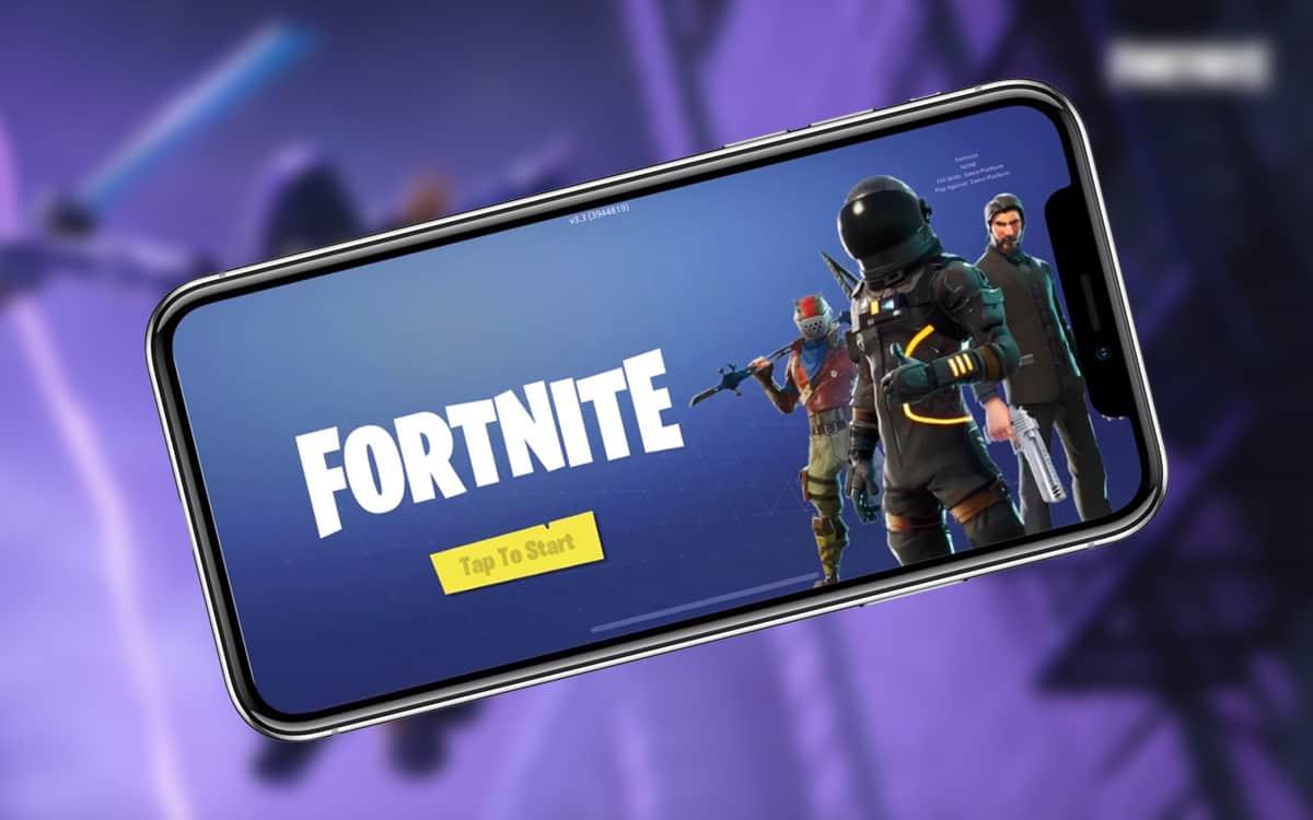 Fortnite iOS receitas