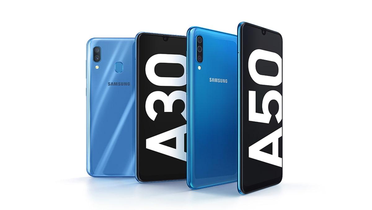 Samsung Galaxy A30 e Galaxy A50