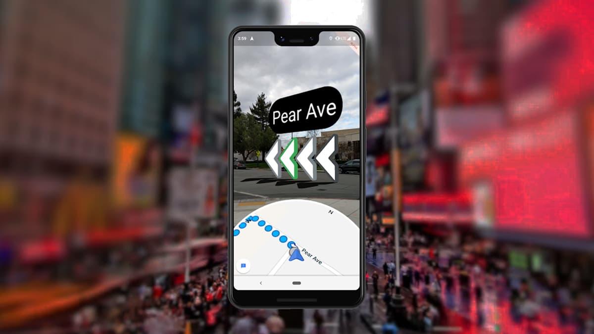 Google Maps nunca mais te deixará mal quando vais a pé