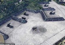 Google Maps Base Militar