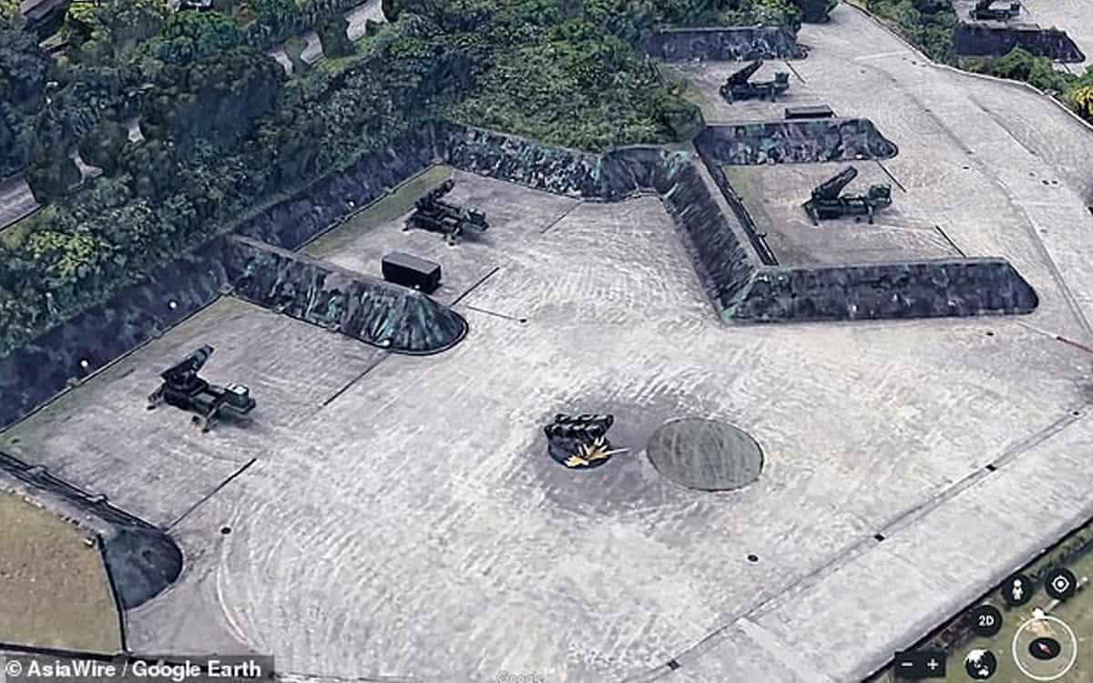 Google Maps Base Militar