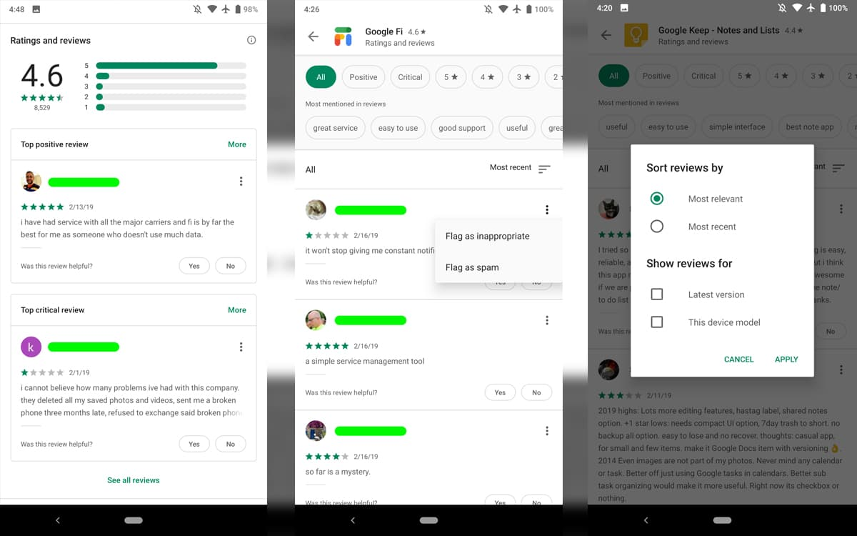 Google Play Design