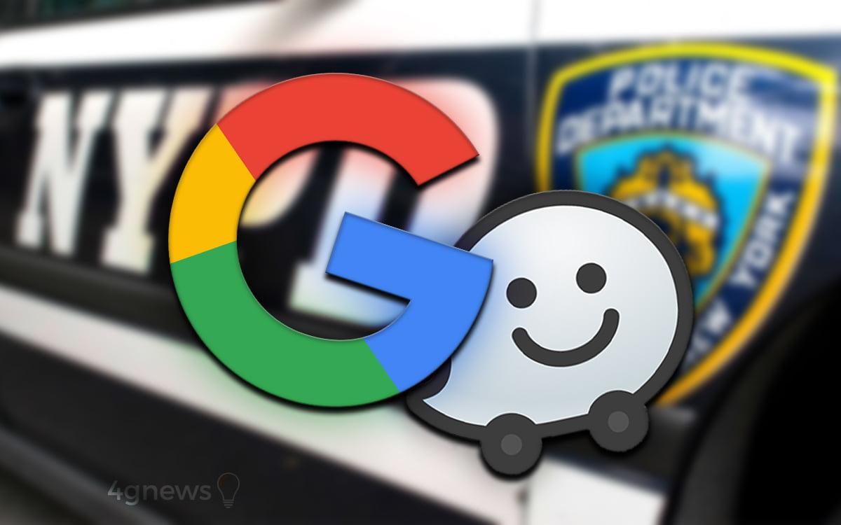 Google Waze NYPD
