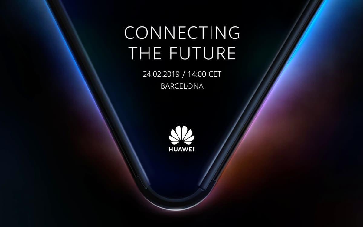 Huawei Smartphone Dobravel MWC 2019