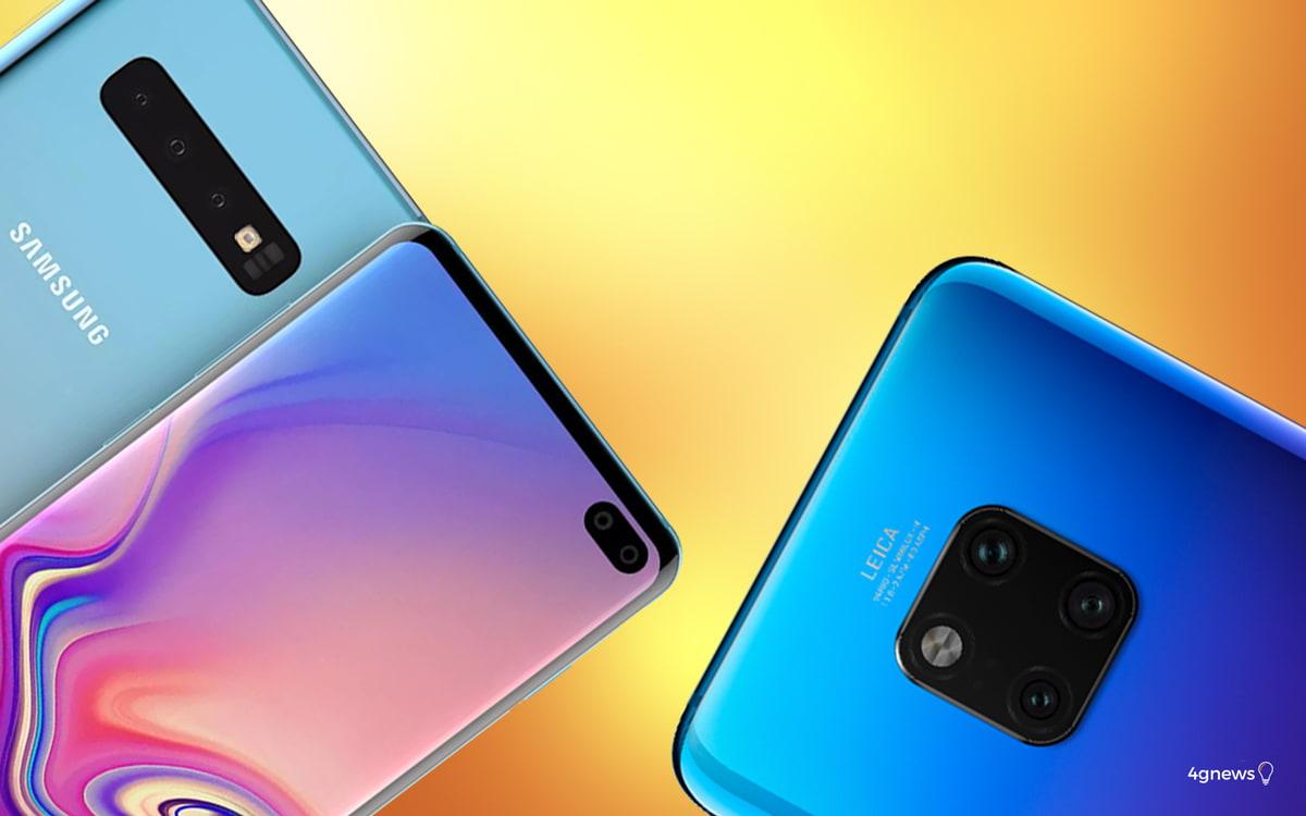 Samsung Galaxy S10+ ou Huawei Mate 20 Pro? Qual o melhor?