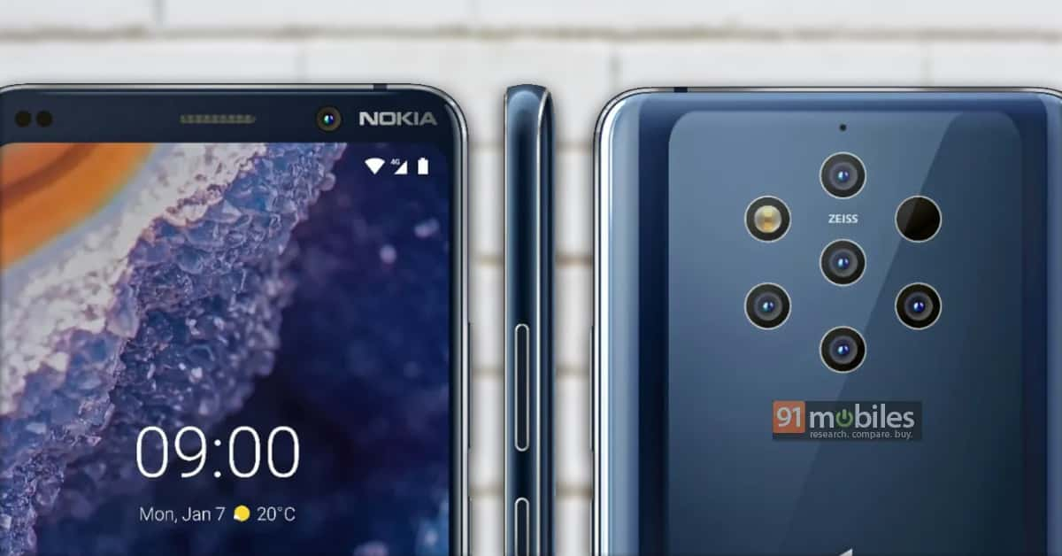 Nokia 9 PureView render oficial