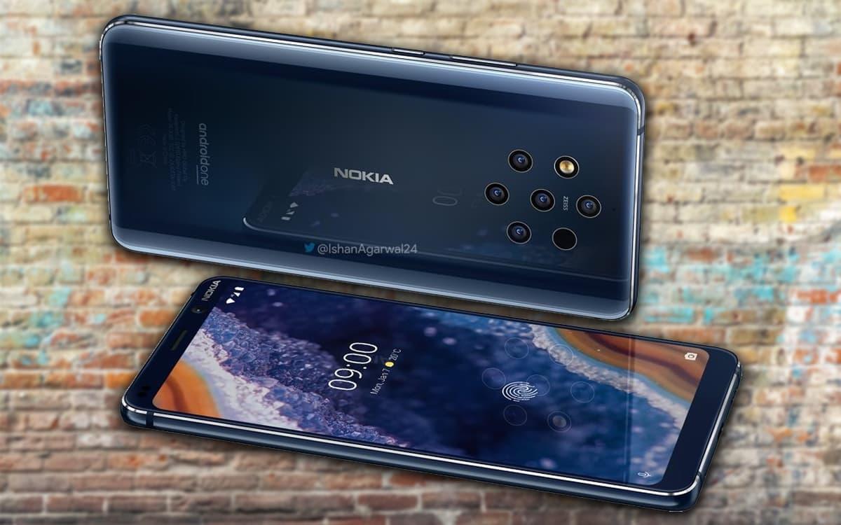 Nokia 9 PureView render oficial