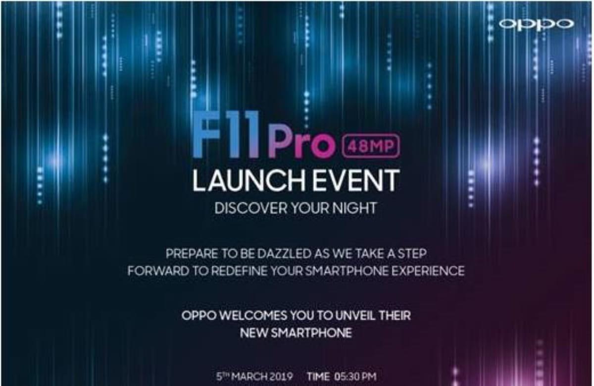Oppo F11 Pro já tem data de lançamento confirmada