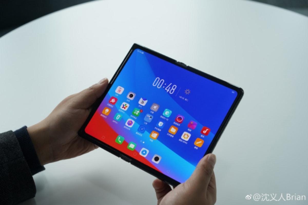 Este é o smartphone dobrável da Oppo que parece o Huawei Mate X
