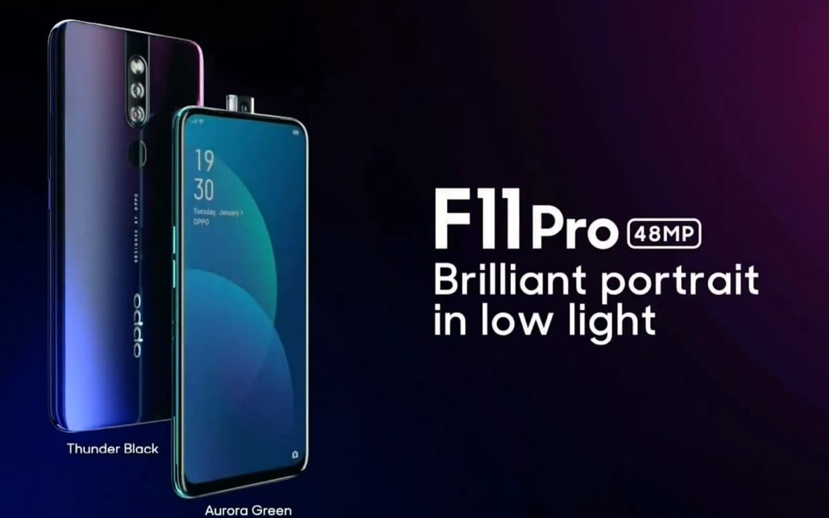Oppo F11 Pro smartphone android