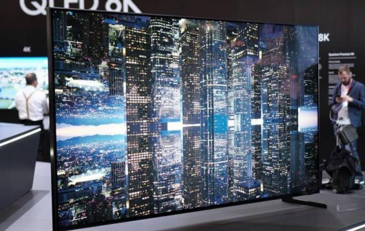 """Samsung lança televisão 8K com 85"""" polegadas e preço astronómico"""