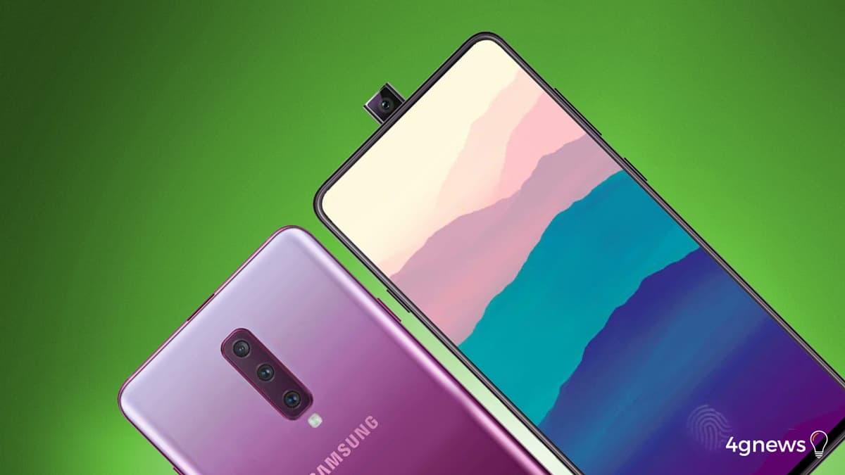 Samsung Galaxy A90: Assim será o telemóvel com câmara Pop-up!