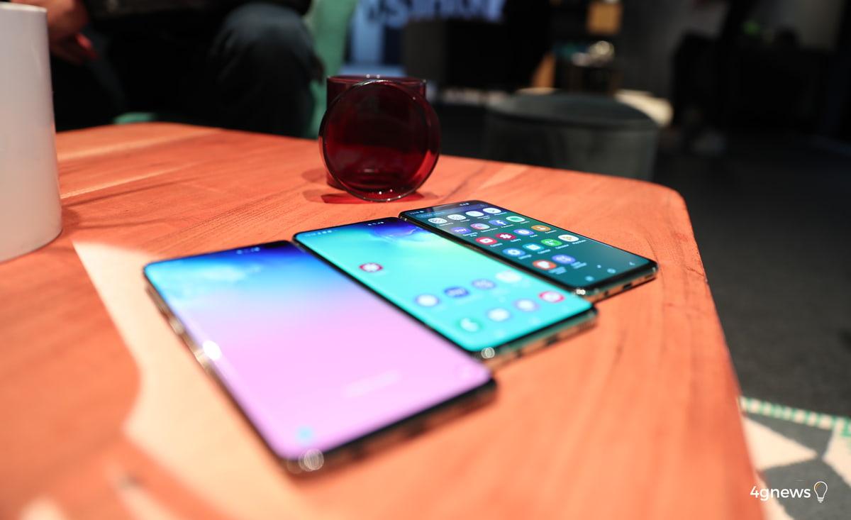 Samsung Galaxy S10 chegará com protetor de ecrã de origem