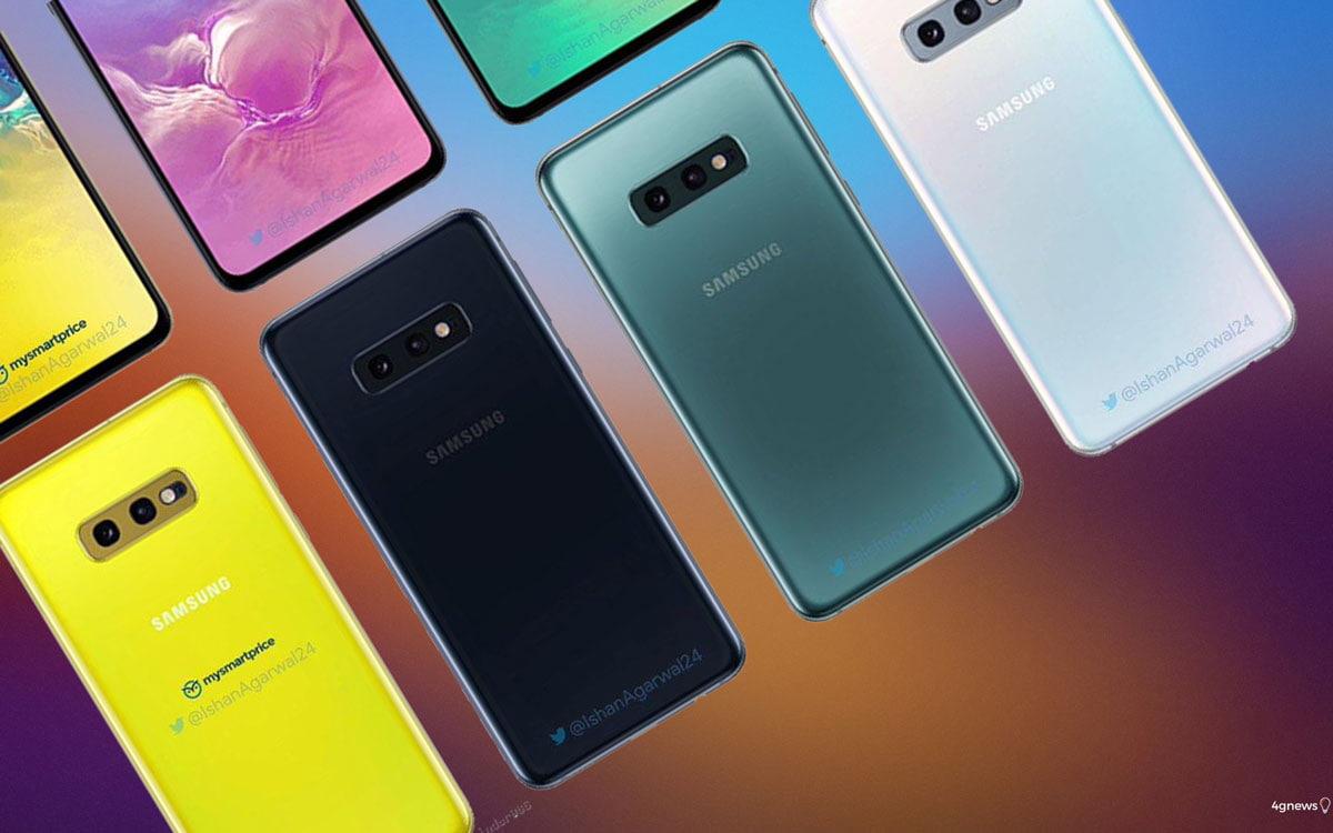 Samsung Galaxy S10 e S10e: Todas as cores dos novos smartphones