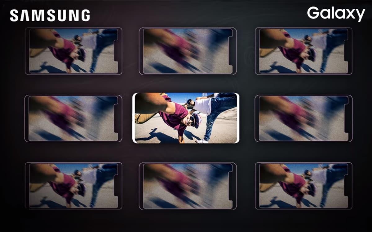 Samsung Galaxy S10 teasers
