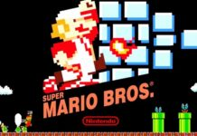 Super Mario Bros NES