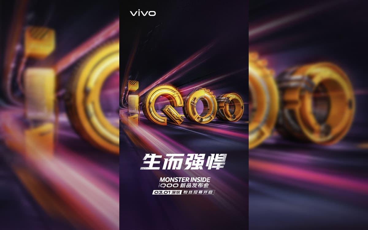 Vivo IQOO smartphone gaming