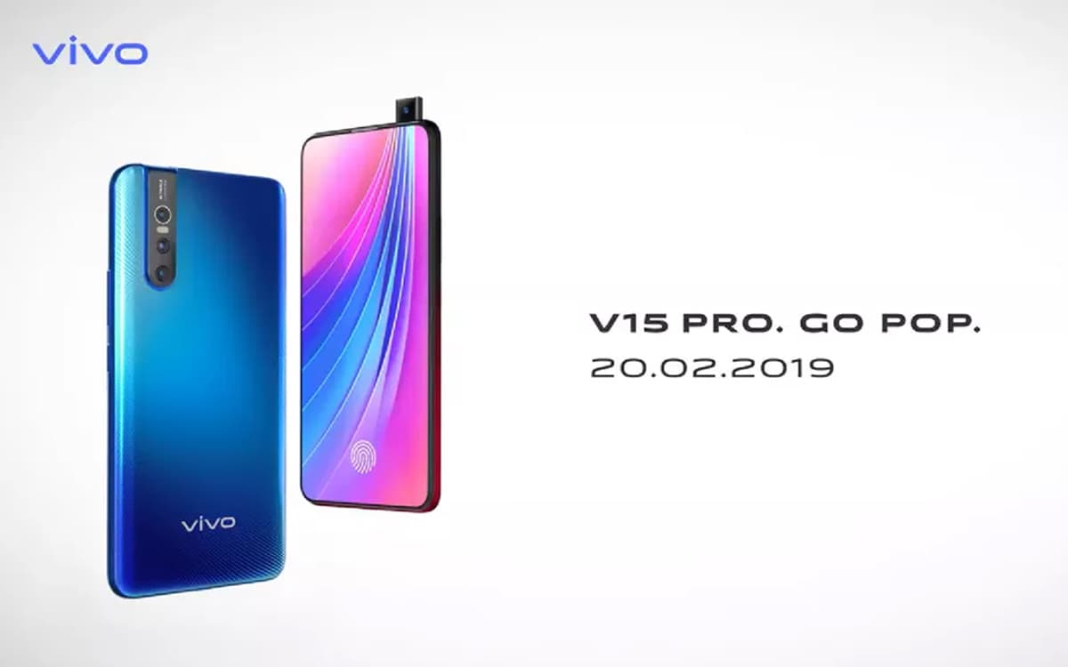 Vivo V15 Pro selfie pop-up