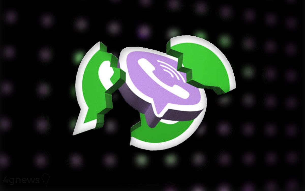 WhatsApp Viber 10