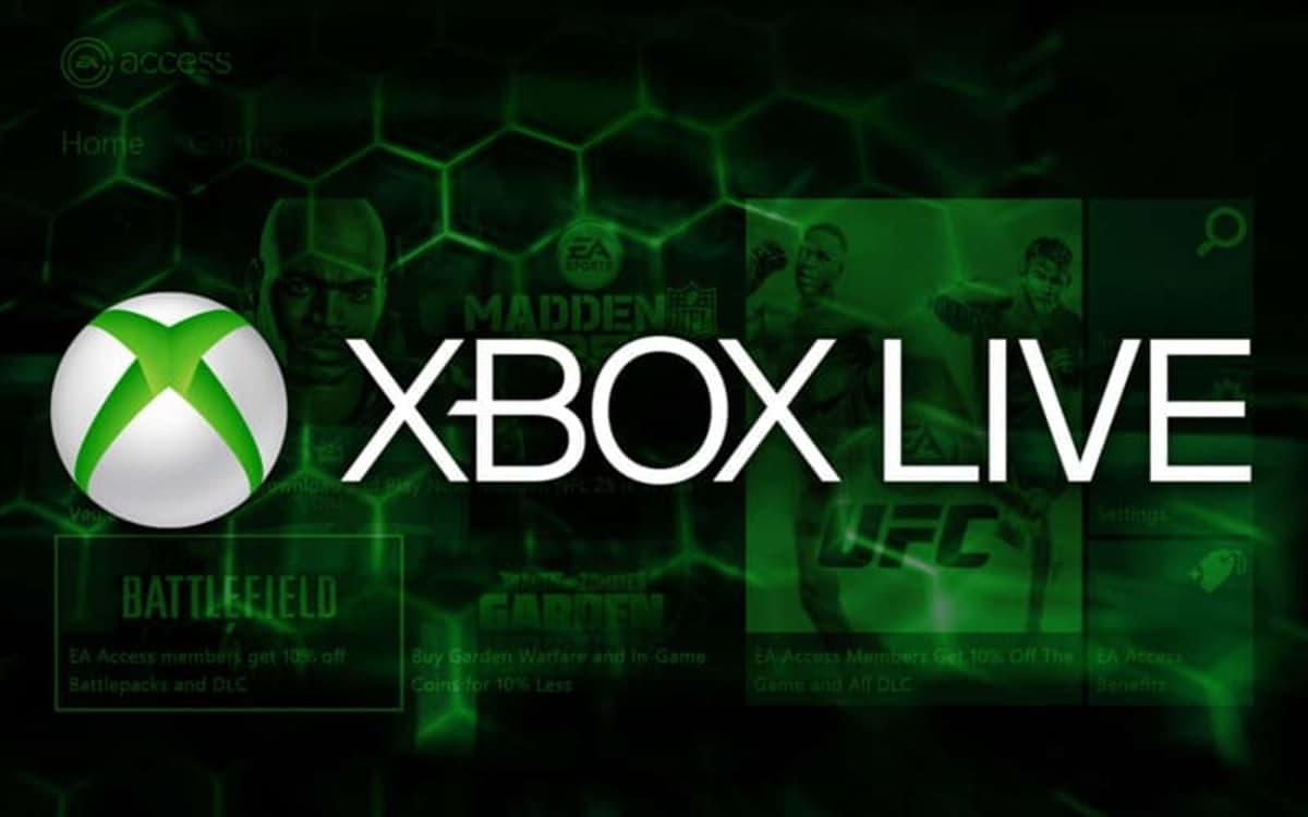 Xbox One Live Gold Microsoft
