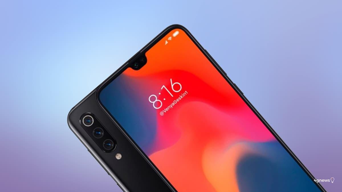 Imagem mostra-nos exatamente o que esperado do Xiaomi Mi 9