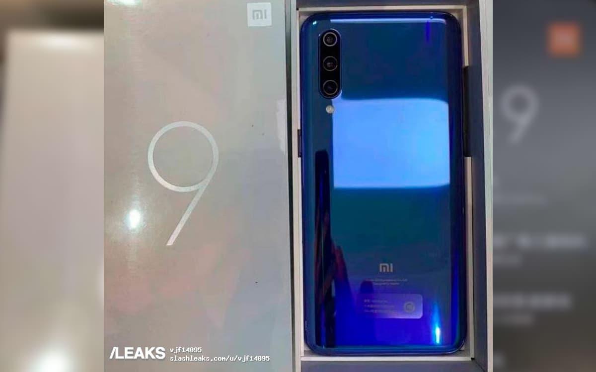 Xiaomi Mi 9 Back
