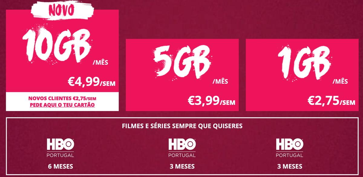 Yorn X tem novo tarifário com 10GB de dados móveis e HBO Portugal