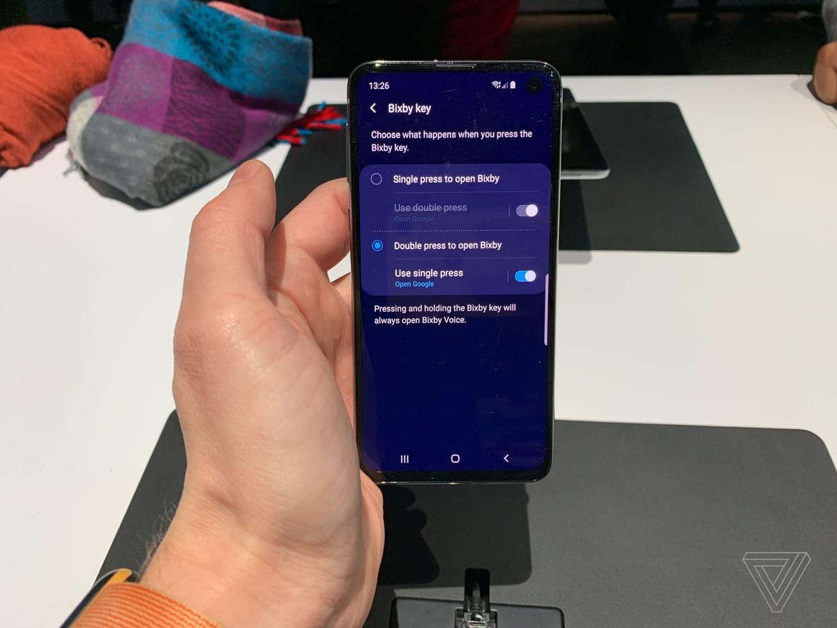 No Galaxy S10 vais poder usar o botão da Bixby na app que quiseres