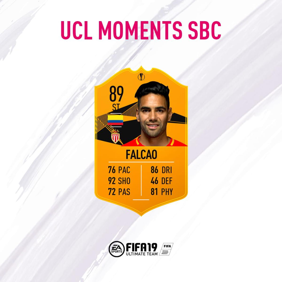 Como completar o Falcao 'UEL Moments' no Fifa 19 Ultimate Team