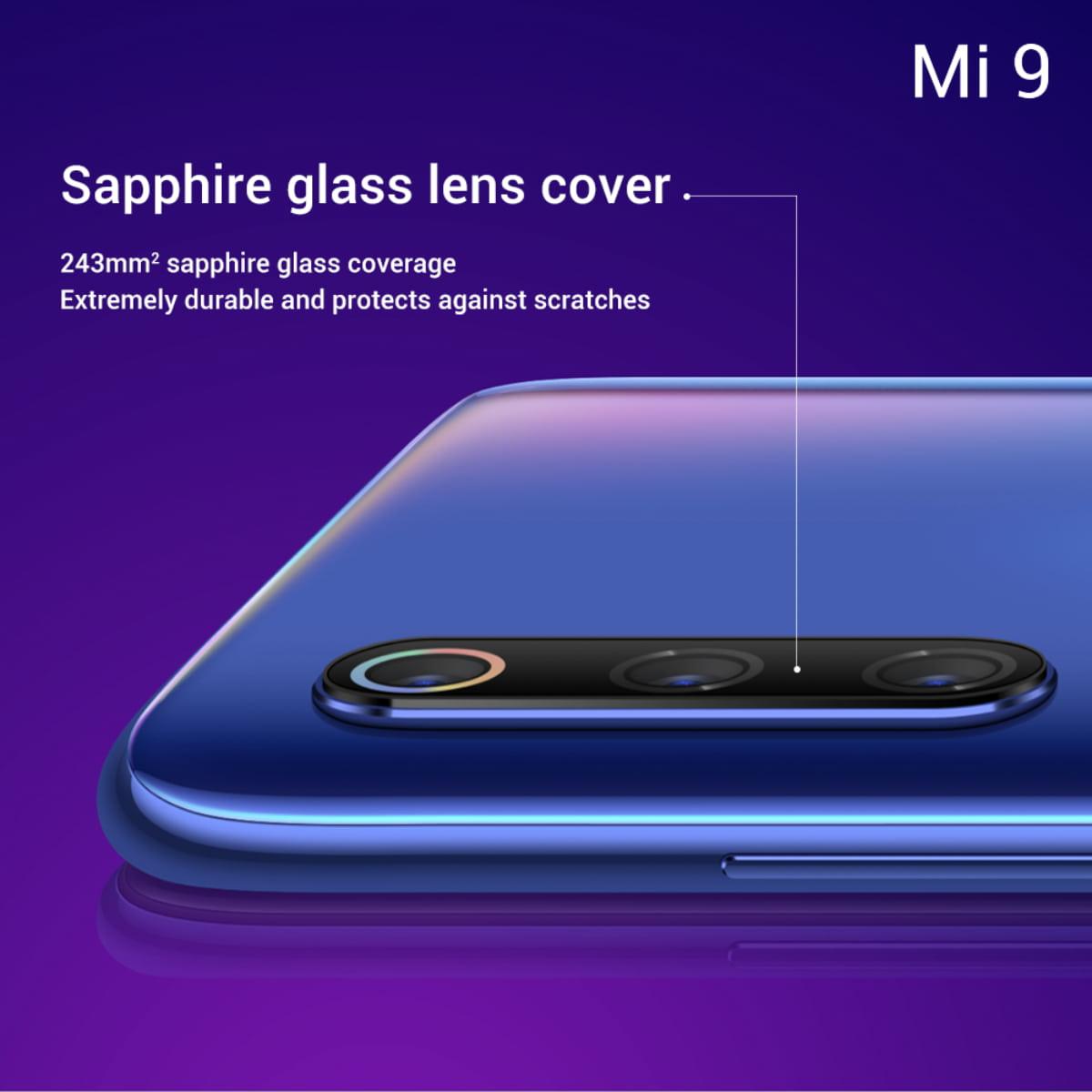 Detalhes das câmaras do Xiaomi Mi 9 revelados oficialmente