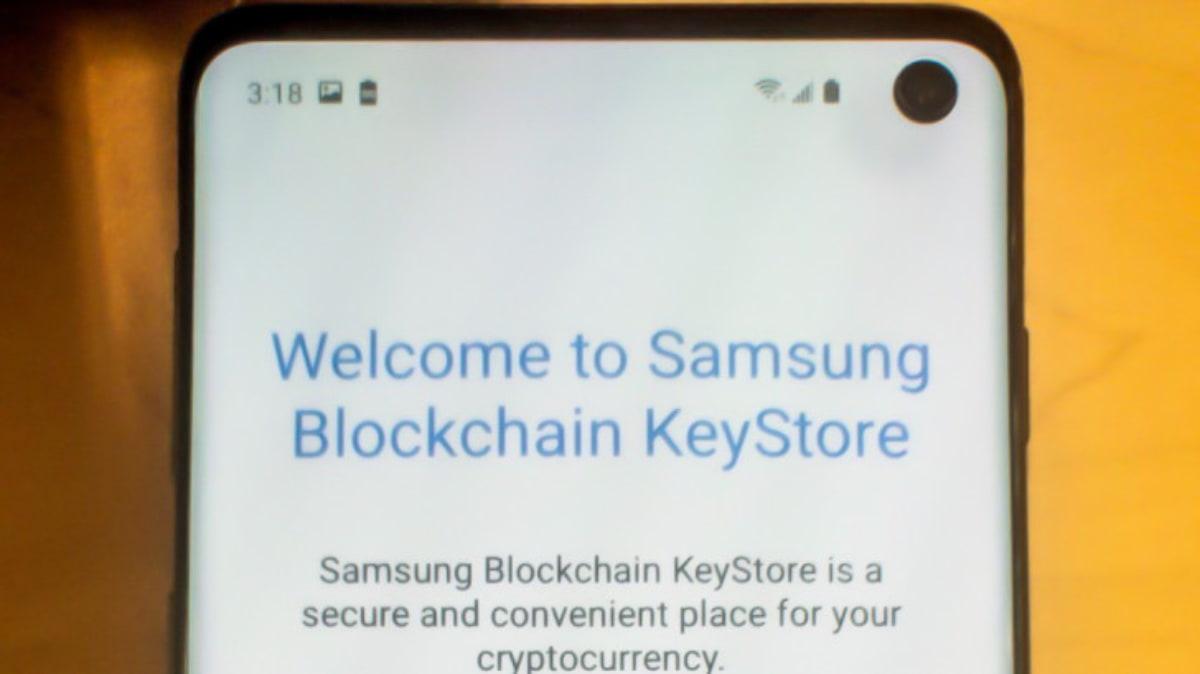 O Samsung Galaxy S10 tem uma carteira de criptomoedas no seu interior