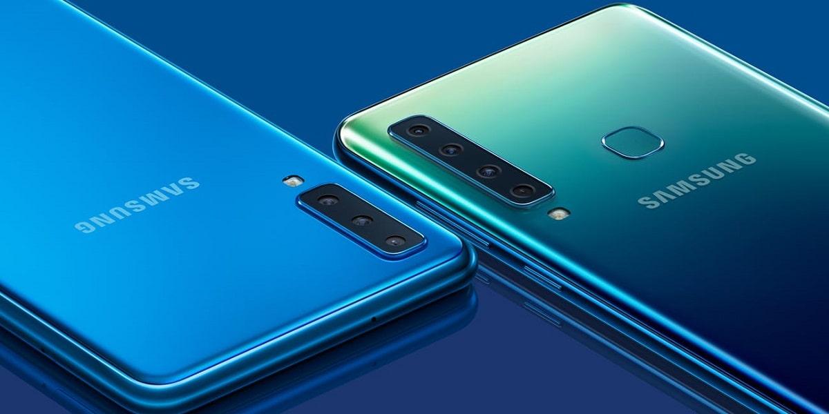 Samsung Galaxy A90 smartphone
