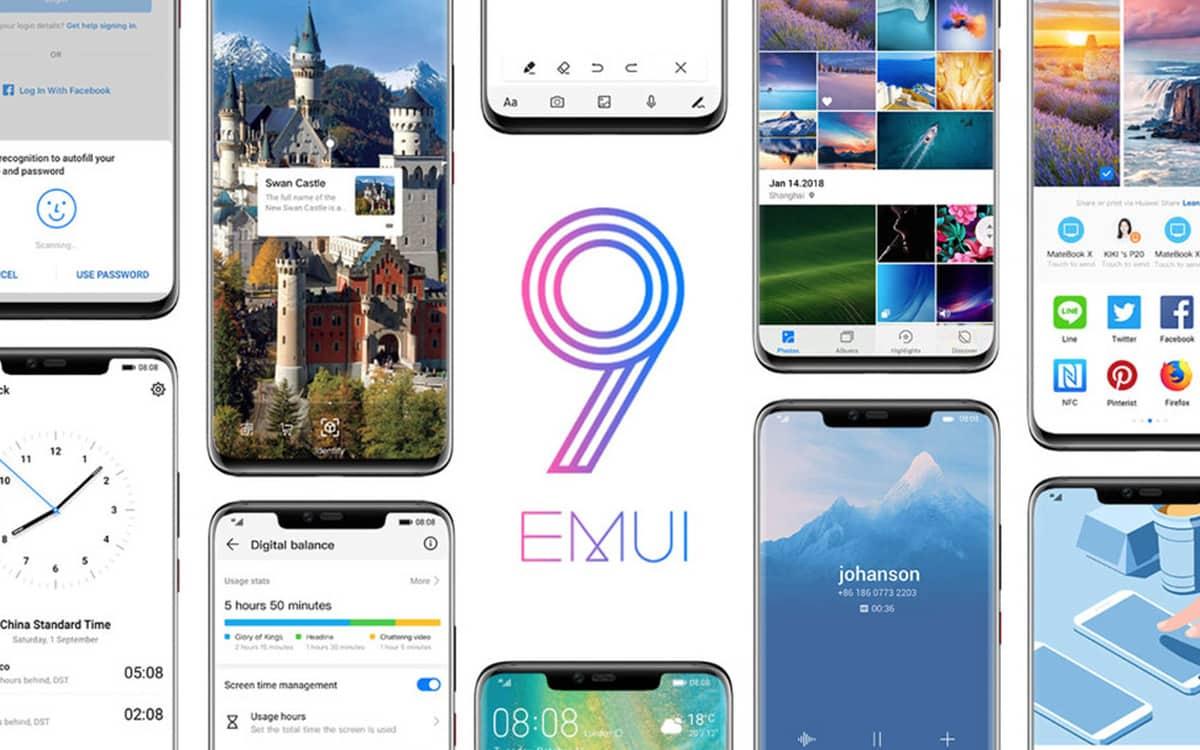 EMUI 9 Huawei Honor